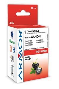 Černá inkoustová kazeta Armor kompatibilní s Canon PGi-525B, 20ml - Alternativní K12560