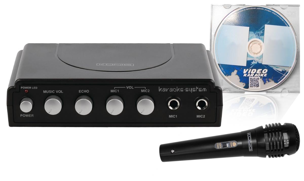Karaoke startovací sada + ZDARMA DVD