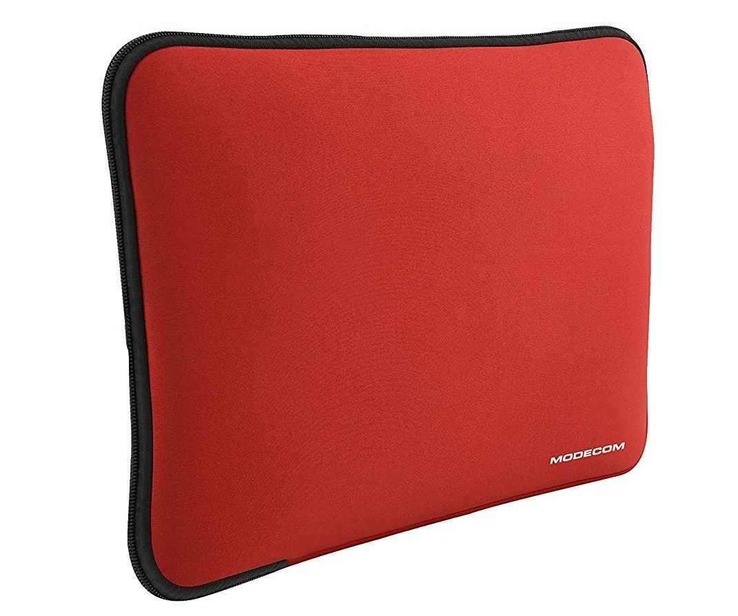 """Neoprenové pouzdro Modecom Brookly S1 na 14 - 16"""" notebook - červené FUT-MC-BROOKLYN-S001-16-RED"""