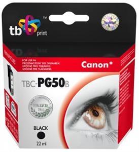 Černá inkoustová kazeta TB kompatibilní s Canon PG-50 Black - Alternativní TBC-PG50B