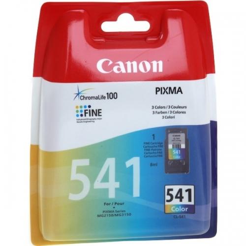 Tříbarevná inkoustová kazeta Canon CL-541 Color - Originální 5227B005