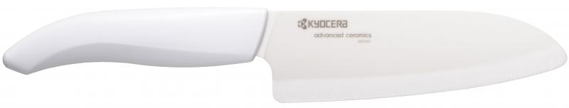 Keramický nůž Kyocera FK-140WH-WH 14 cm, Bílá