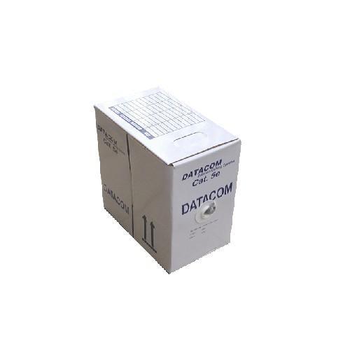 DATACOM FTP Cat5e PVC kabel 305m (drát), šedý CSHVSKF424
