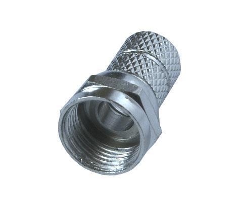 Anténní konektor, F konektor šroubovací, 6,5mm