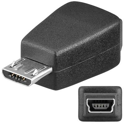 PremiumCord USB redukce Mini 5 PIN/female - Micro USB/male