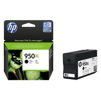 Černá inkoustová tisková kazeta HP 950XL (HP950XL, HP-950XL, CN045AE) - Originální CN045AE