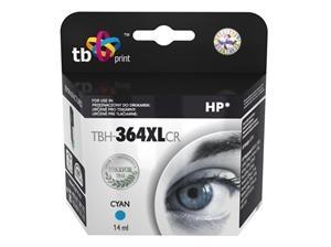 Azurová inkoustová kazeta HP 364XL (HP364XL, HP-364XL, CB323EE), 14ml TB - Alternativní TBH-364XLCR