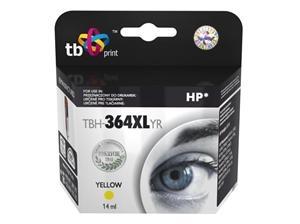 Žlutá inkoustová kazeta HP 364XL (HP364XL, HP-364XL, CB325EE), 14ml TB - Alternativní TBH-364XLYR