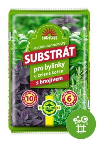 Substrát Forestina - Bylinky a zelené koření 10 l