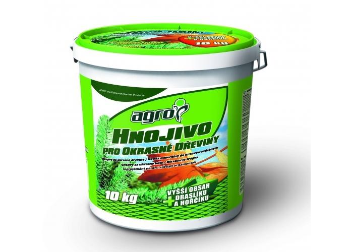 AGRO Hnojivo pro okrasné dřeviny plastový kbelík 10 kg