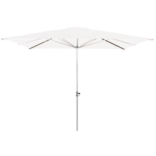 Zahradní slunečník Doppler ALU EXPERT-TELESKOP 300x300 - 808 Bílá