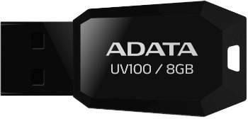 ADATA USB UV100 8GB black AUV100-8G-RBK