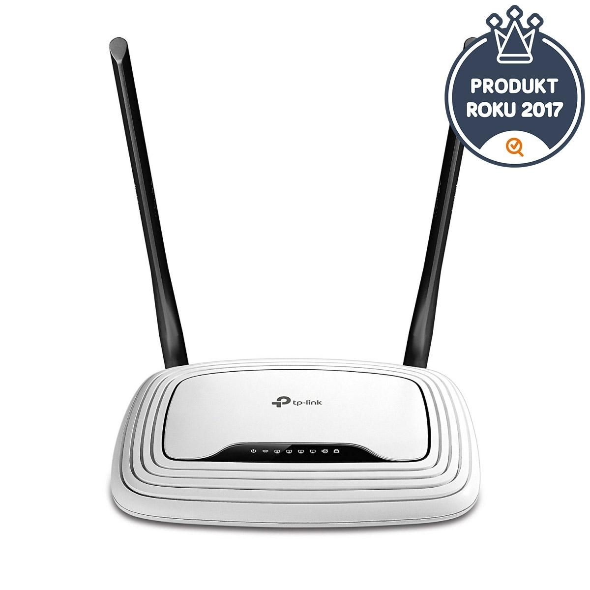 WiFi router TP-Link TL-WR841N AP/router, 4x LAN, 1x WAN (2,4GHz, 802.11n) 300Mbps TL-WR841N