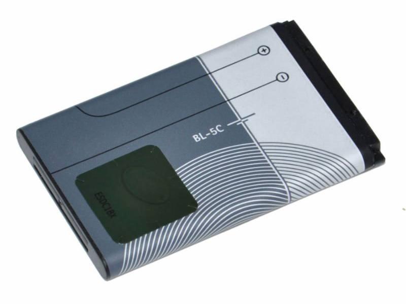 Originální baterie BL-5C pro Nokia 1100/ 1680, Li-Ion 1020mAh