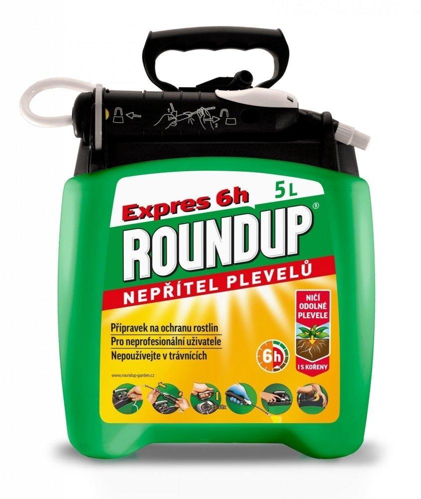 Roundup Expres 6h - 5 l rozprašovač PnG 2