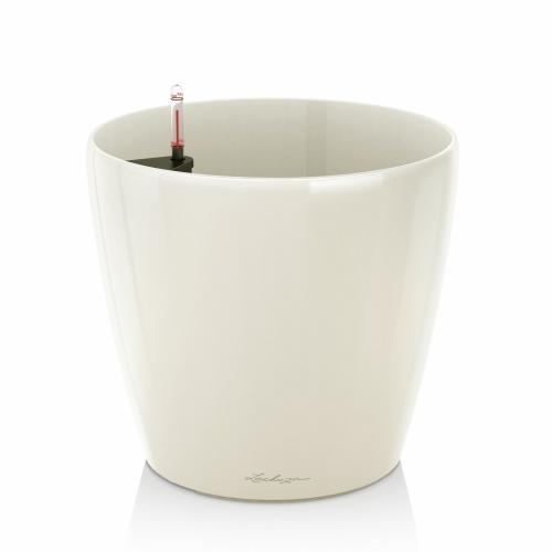Květináč Lechuza Classico - Bílá, rozměr 35