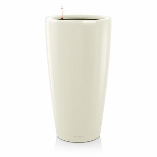 Květináč Lechuza Rondo - Bílá, rozměr 40