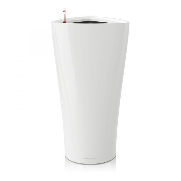 Květináč Lechuza Delta - Bílá, rozměr 40