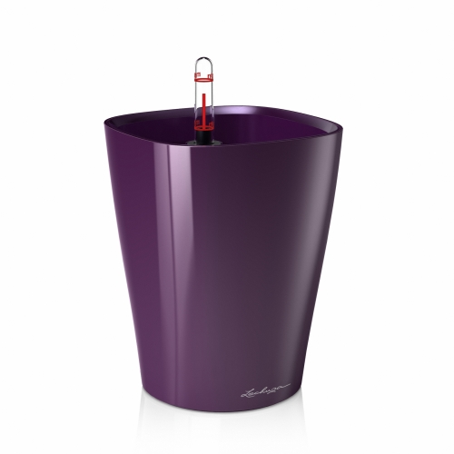 Květináč Lechuza Deltini - Pastelová fialová