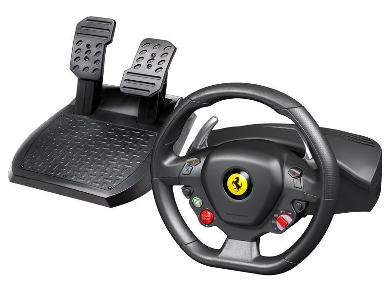 Thrustmaster Sada volantu a pedálů Ferrari 458 Italia pro Xbox 360 a PC (4460094) 4460094