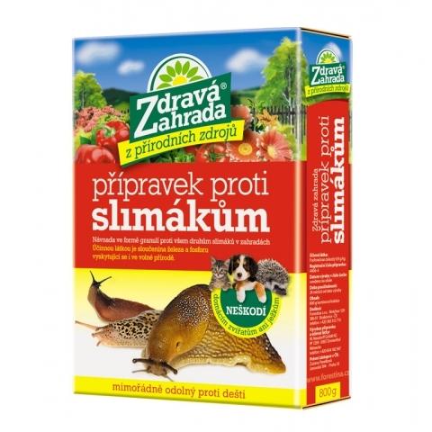 Přípravek proti slimákům 800 g - Zdravá zahrada