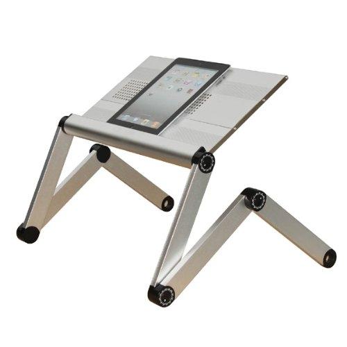 Stojan pro notebook Advance silver