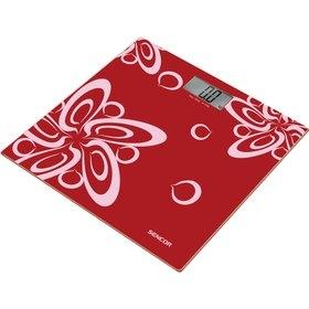 Osobní váha Sencor SBS 2507RD - red
