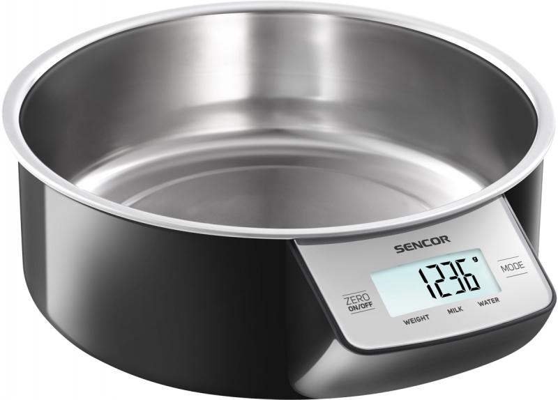 Digitální kuchyňská váha Sencor SKS 4030BK - černá