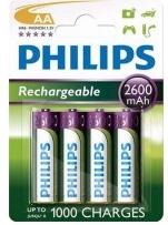 Nabíjecí baterie Philips MultiLife AA 2600 mAh, 4ks