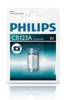 Baterie Philips Lithium CR123A 3 V