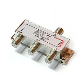 TV/FM Rozbočovač R-3 (5-1000 MHz) - 1x napájecí větev