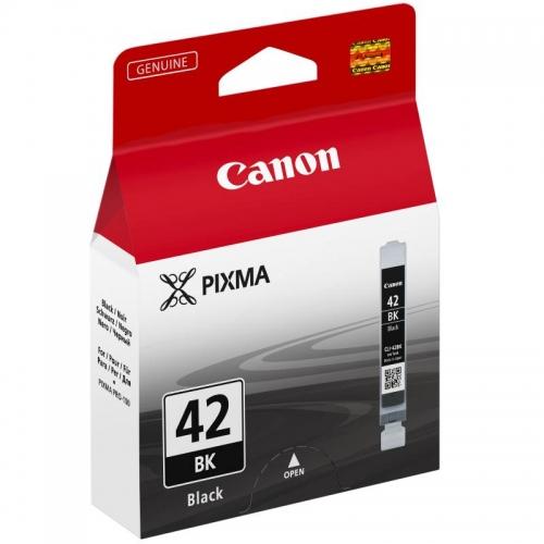 Černá inkoustová kazeta Canon CLI-42 BK (CLI 42, CLI42, Pixma Pro-100) - Originální 6384B001