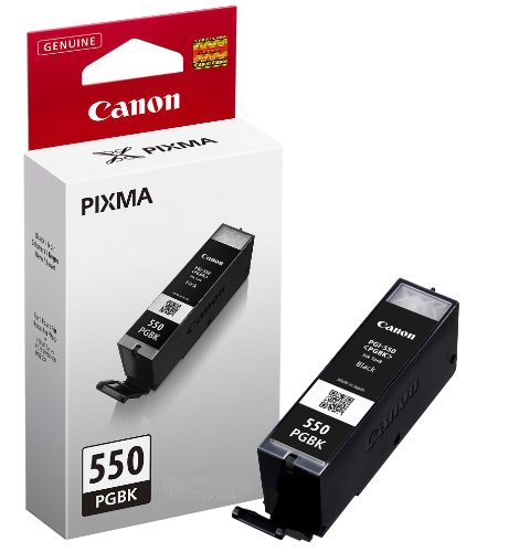 Černá pigmentová inkoustová kazeta Canon PGI-550 BK (PGI 550, PGI550, Pixma MG5450) - Originální 6496B001