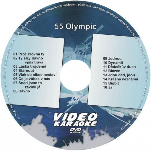 KARAOKE ZÁBAVA: Karaoke DVD 55 Olympic