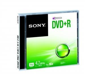 Média DVD+R SONY DPR-47; 4.7GB; 16x; 1ks DPR47SJ