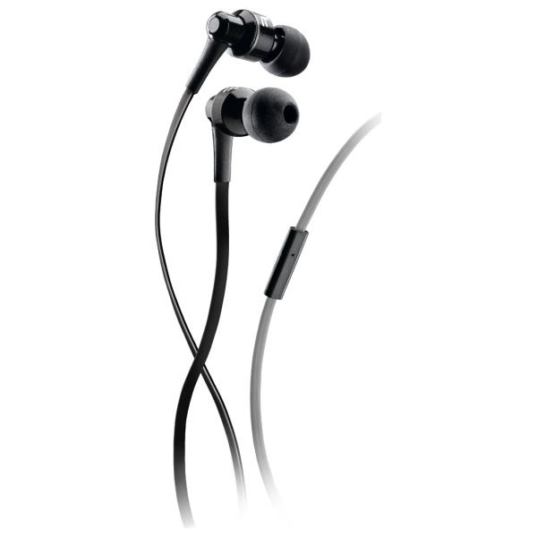 Sluchátka AudioPro Mosquito s mikrofonem - černo-šedé APMOSQUITO1