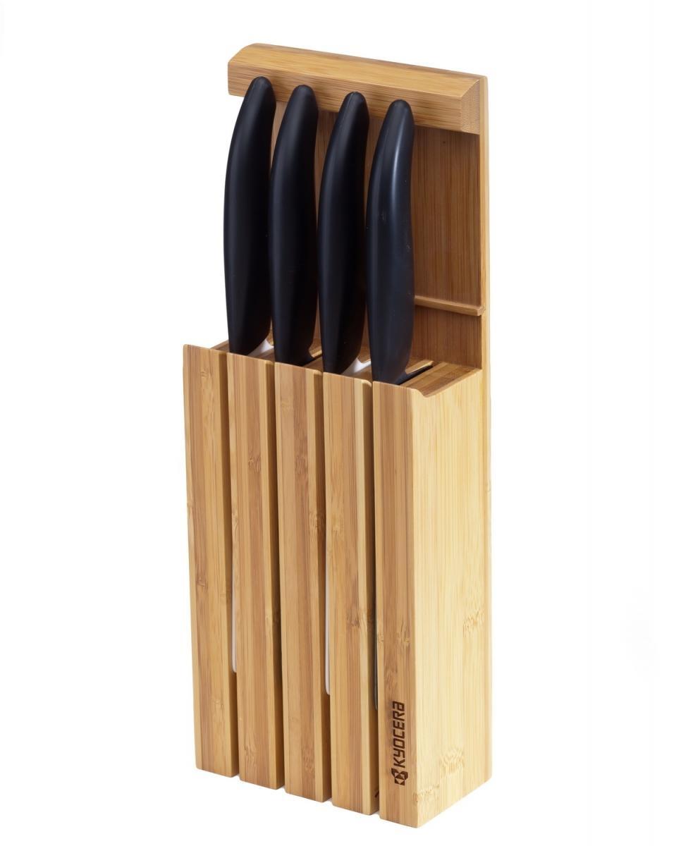 Bambusový stojan na 4ks keramické nože