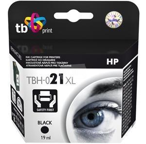 Černá inkoustová kazeta TB kompatibilní s HP 21XL (HP21XL, HP-21XL, C9351AE) - Alternativní TBH-021XL