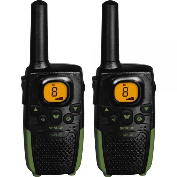 Sada 2 radiostanic Sencor SMR 130 TWIN, 7 km