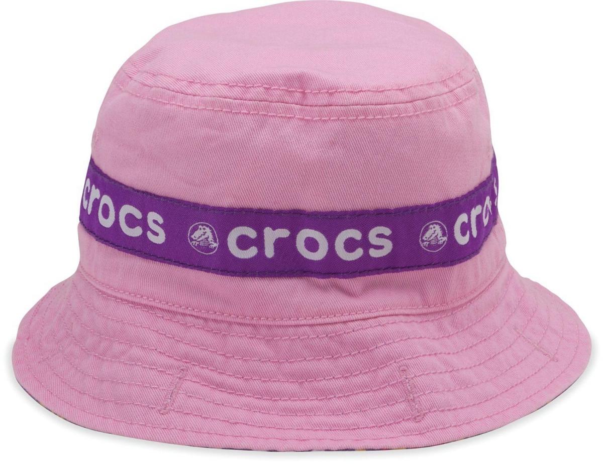 Crocs Kids Reversible Bucket - Pink/Viola