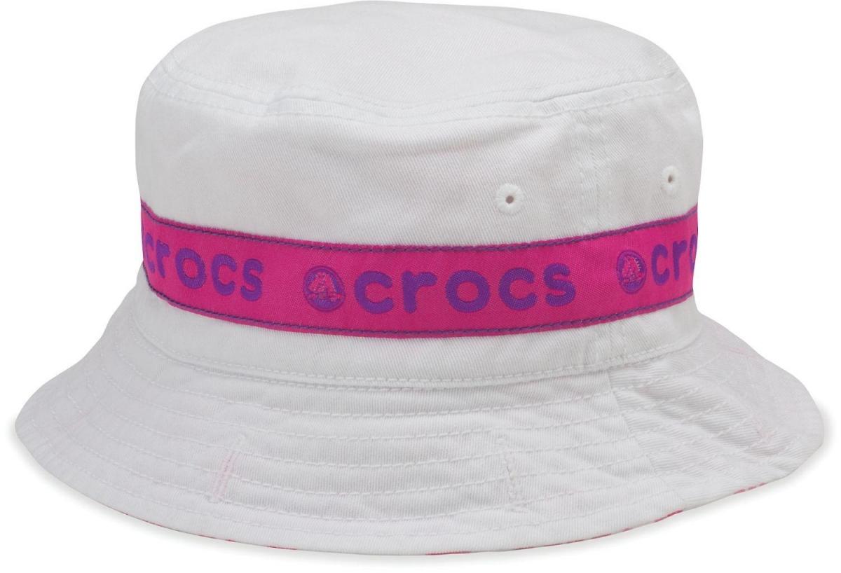 Crocs Kids Reversible Bucket - White/Viola