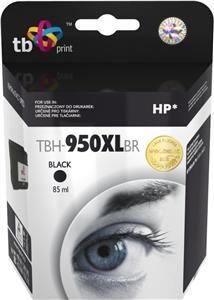 Černá inkoustová tisková kazeta HP 950XL (HP950XL, HP-950XL, CN045AE), TB - Kompatibilní TBH-950XLBR