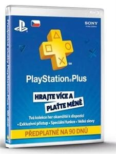 PlayStation Plus Card 90 Day PS719234647