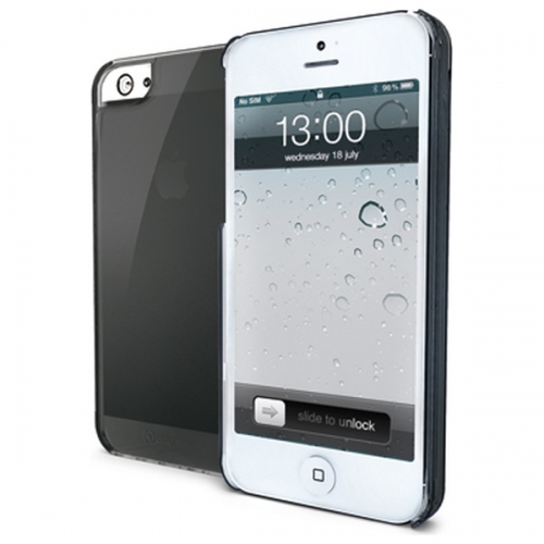 Silikonový obal Celly Gelskin pro Apple iPhone 5, - černé GELSKIN185BK