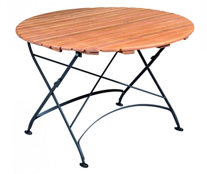 Skládací stůl Doppler MONDSEE, průměr 110 cm
