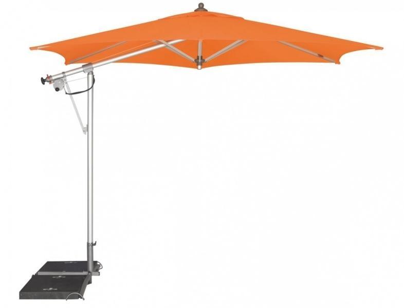 Zahradní slunečník Doppler SUNLINE II 290 - Oranžová