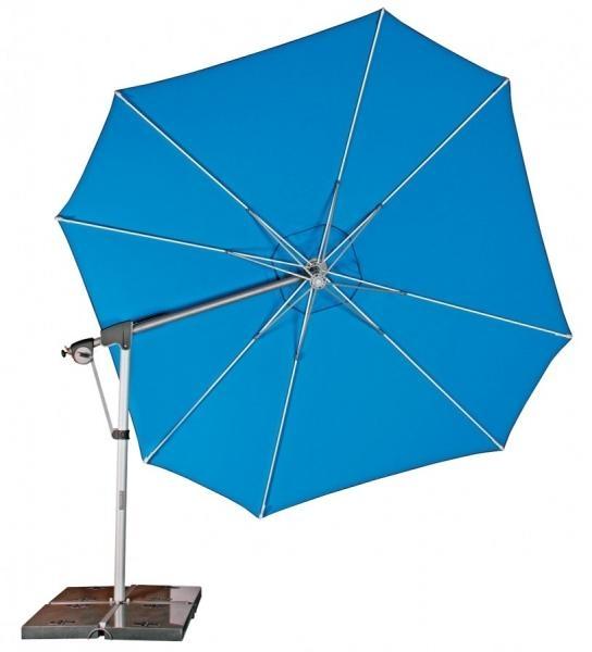 Zahradní slunečník Doppler PROTECT 400P - Akvarium