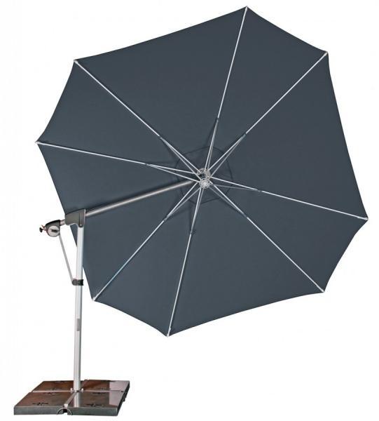 Zahradní slunečník Doppler PROTECT 400P - Antracit