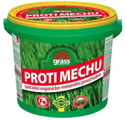 Přípravek proti mechu - granulovaný 10 kg kbelík