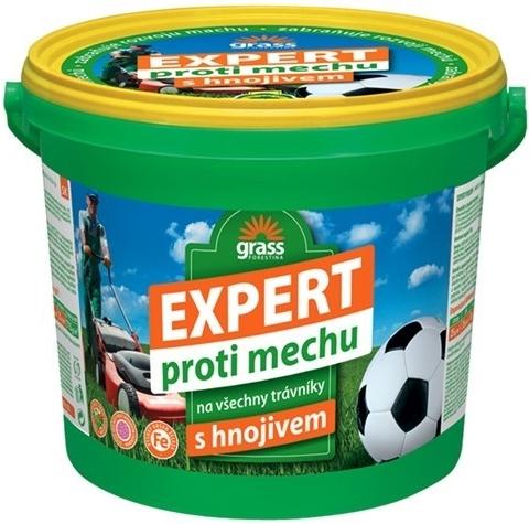 Hnojivo trávníkové - Expert proti mechu 5 kg kbelík